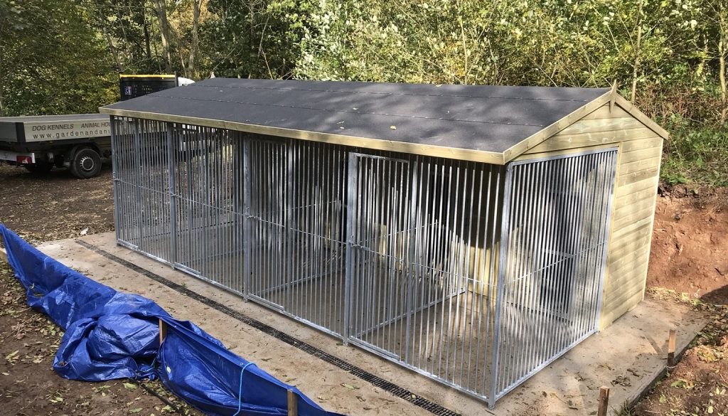 Multi Kennel Block Build – from Start to Finish